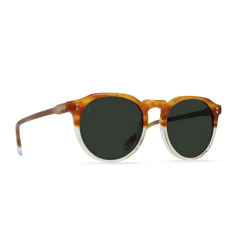 30c0983b403 Raen Remmy Unisex Round Sunglass    Honey Havana Green – Pertutti ...