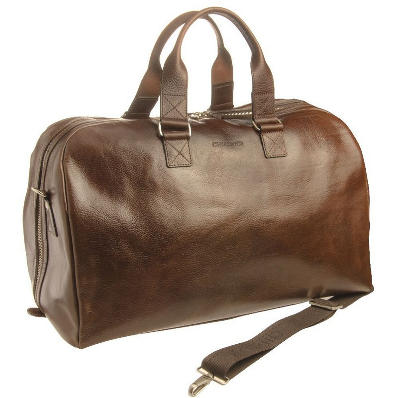 Chiarugi Firenze Leather Travel Bag