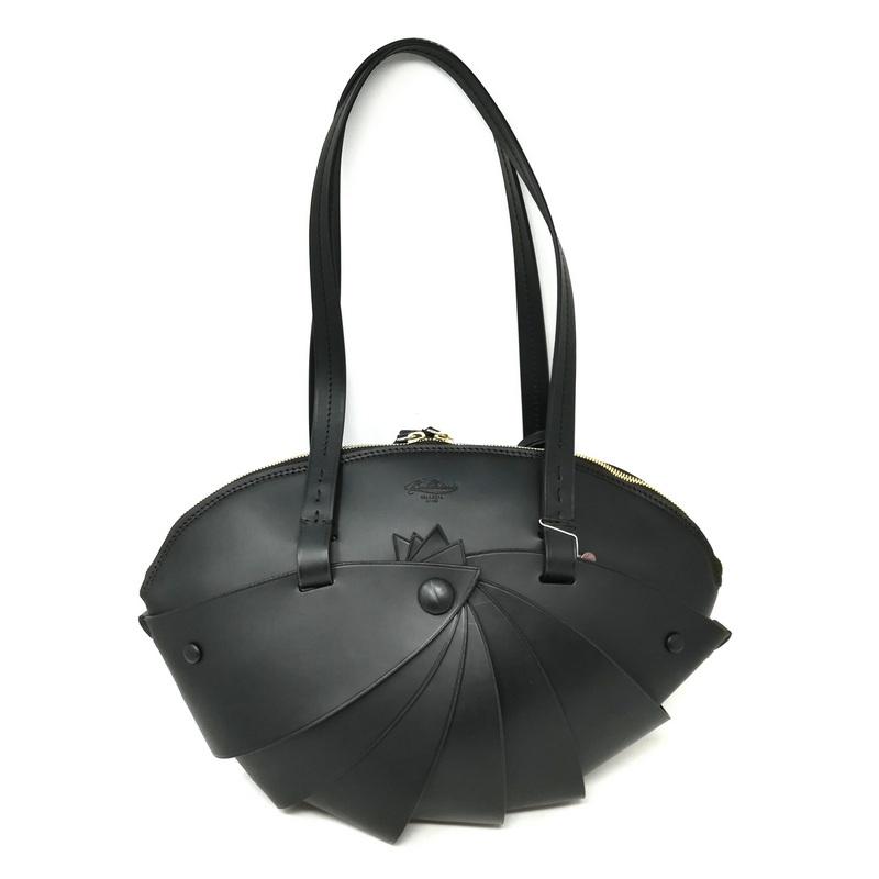 2515e931f Boldrini Opera Leather Bag 07045 Large // Black – Pertutti New York